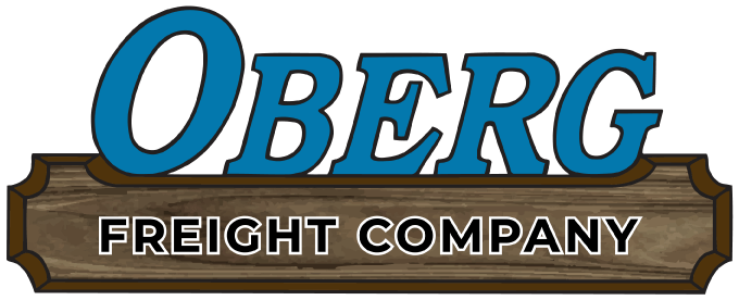 Oberg Freight Company Logo